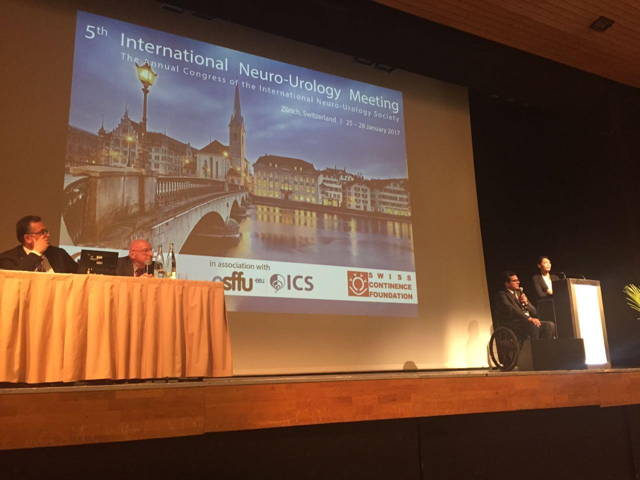 5th International Neurourology meeting. Zurich, Switzerland, 2017