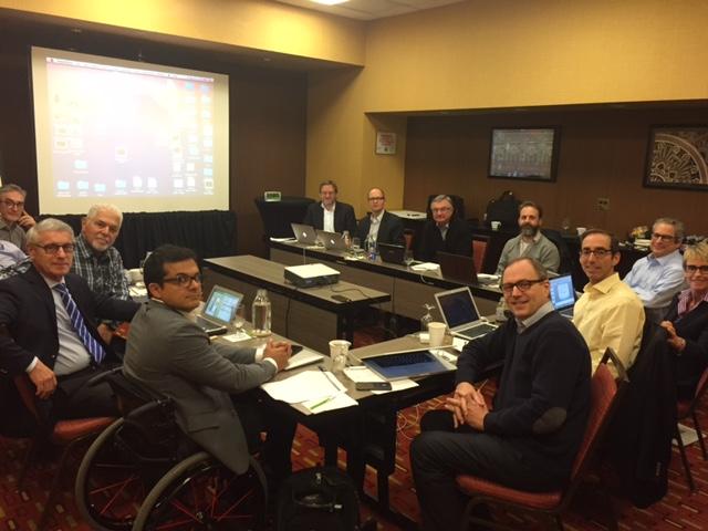 Preparing the ICS consensus on Sacral Neuromodulation. Chicago, EEUU. 2017