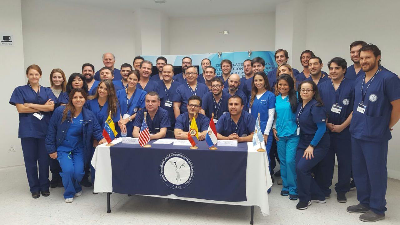 Cadaver Lab on Sacral Neuromodulation. Bogota. Colombia. 2016