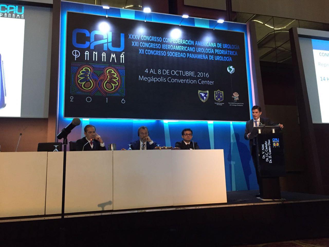 Confederación Americana de Urología. Congreso anual. Panamá. 2016