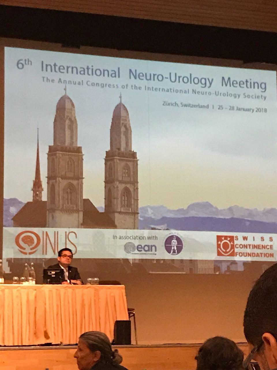 6th International Neurourology Meeting. Zurich, Switzerland. 2018
