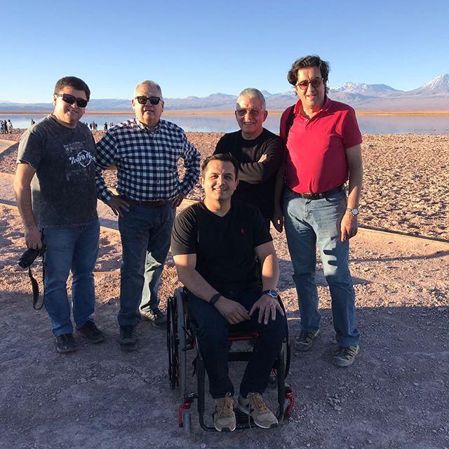 Finalizando curso filial del norte Sociedad Chilena de Urología. Desierto de Atacama.