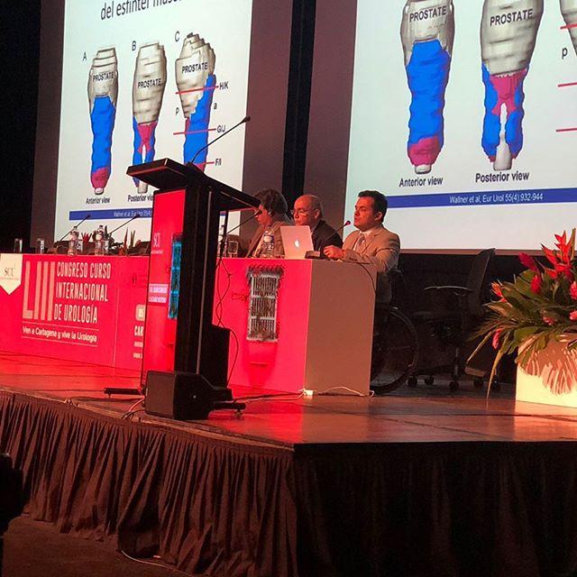 Société Internationale d'Urologie Course, durante el congreso nacional de urología, Cartagena de Indias, Septiembre 2018