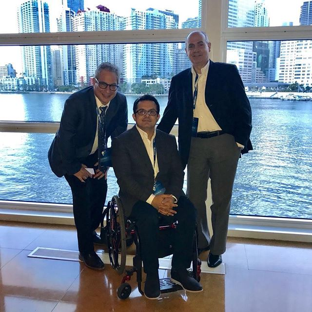 """Foro líderes de opinión en neuromodulación sacra"" Pelvic floor forum. Miami, EEUU. September 2018. With Professor Steven Siegel And my dear  colleague Dr. Reynaldo Gómez"