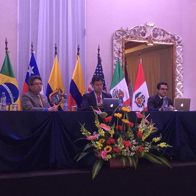 Curso internacional de Urología. Quito, septiembre 2018