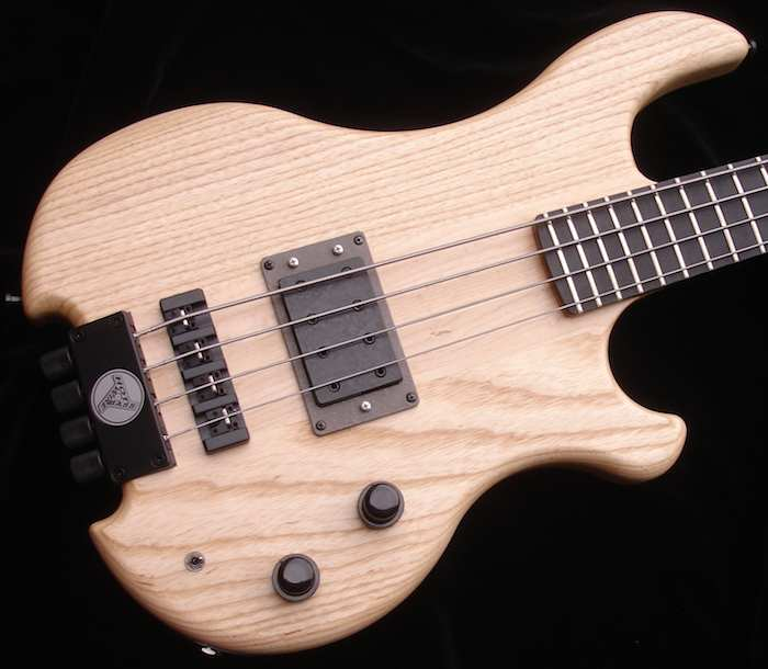 Lighter - Only 3300 grams on the scale for the medium scale Inlaw of light swamp ash, with a few cavities in the body to save more weight, and a matte finish.