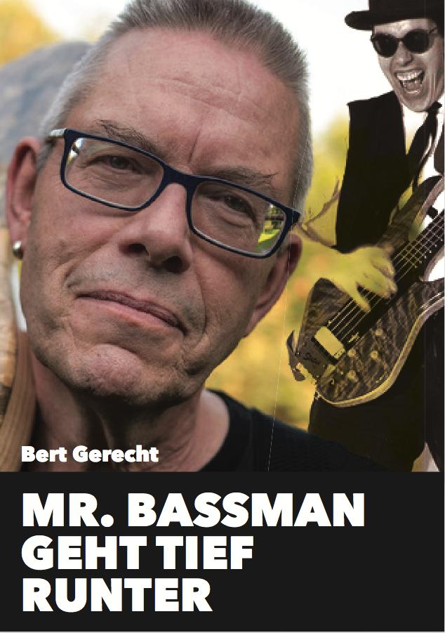 Mr. Bassman geht tief runter - Bert Gerecht gräbt in seinen Erinnerungen: Ab 1968 Bassist in Ami-Clubs, tierisch-substanzielle Bewusstseinserweiterung nicht nur beim Musikstudium, 1980 dann der kultige Laden Mr. Bassman. Der Rasende Bass-Bote machte ihn rasend, und wie war das mit seiner Bass-Bibel? Dann Peavey, Fachblatt, Bass-Talk! Nach 45 CD-Produktionen wurde aus Hot Wire Records 1999 Hot Wire Bass, und was war sonst noch so los? Ein Schelmenroman aus der Frankfurter Szene.