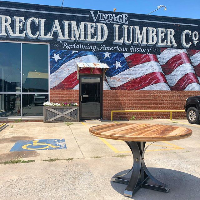 There are not enough nice things to say about my favorite spot in #oklahomacity @vintagereclaimedlumber. Having access to the beautiful materials they have on hand, and the relationships and design collaboration are the biggest factor when it comes to my growth as a maker. If you're in the Oklahoma City area or passing thru I recommend stopping by. I can't imagine you'll regret it. Also give them a follow on here @vintagereclaimedlumber. Thanks 🙏  p.s. I can't wait to share this build with you all!