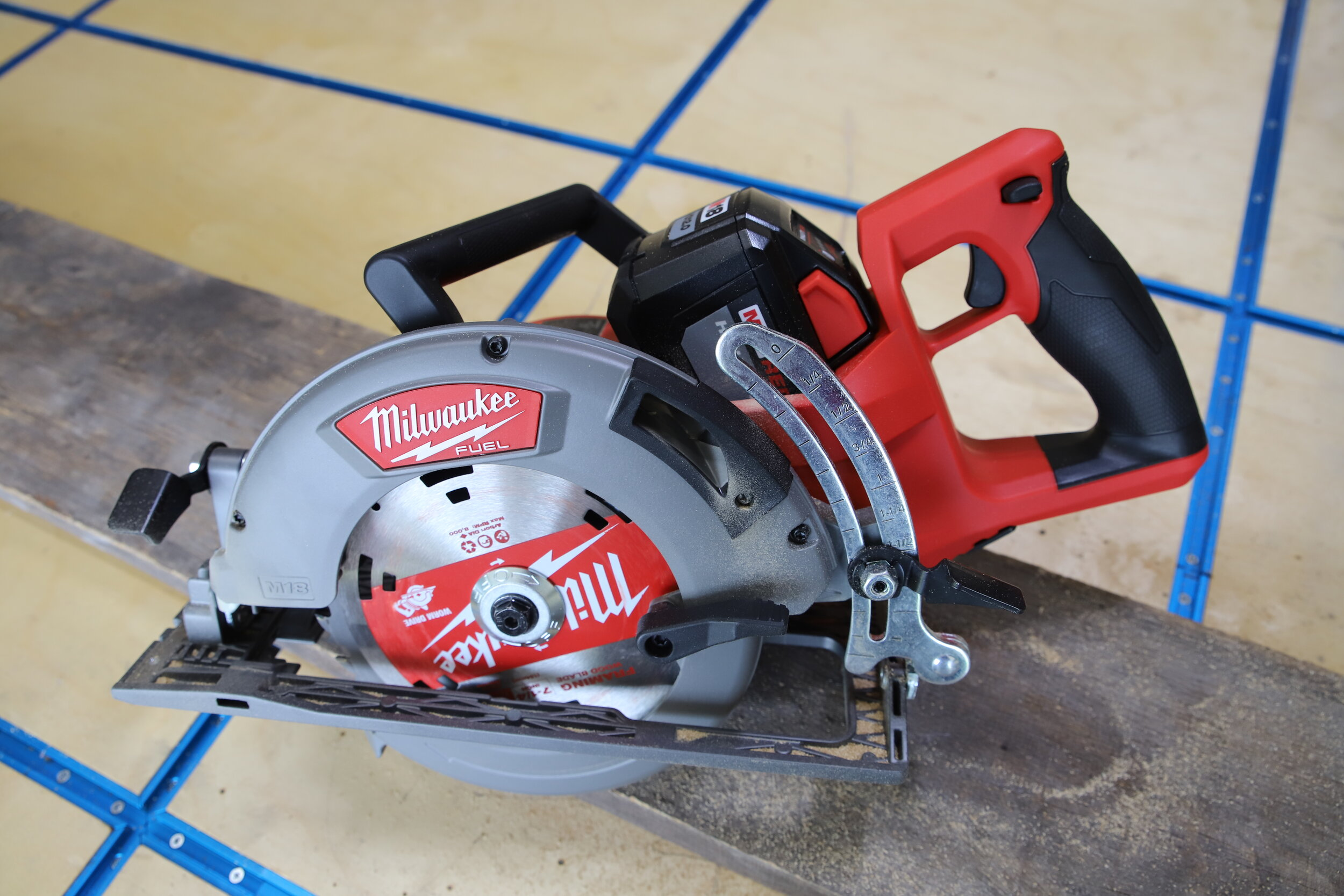 Milwaukee Rear Drive Circular Saw Review Jonny Builds