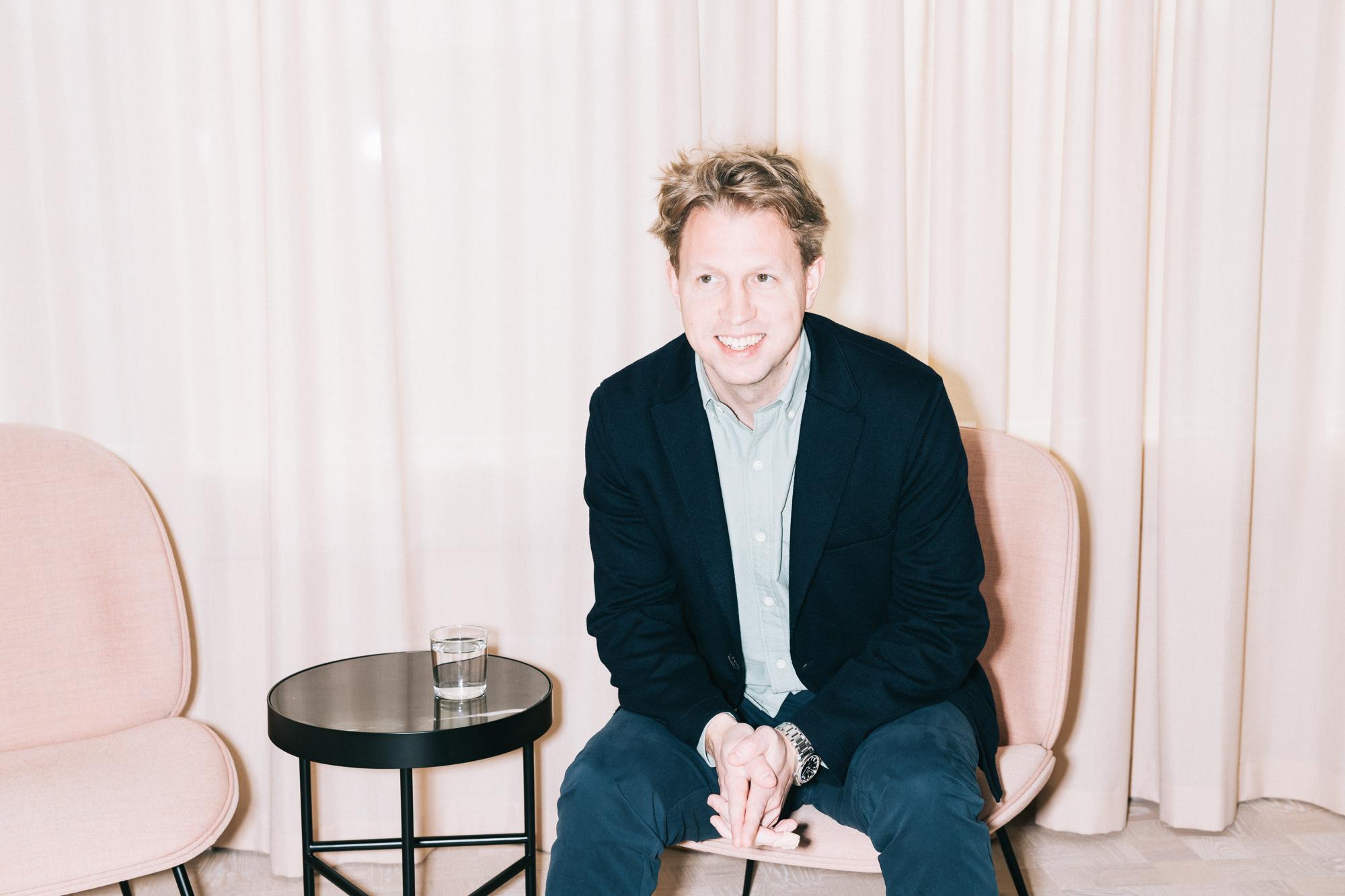 Daniel Kjellén, CEO  Ladda ner högupplöst