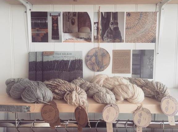 The Bright Moon yarn corner, handspun, ethical and natural