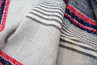 Woven Blanket Scarf by Shiv Textiles