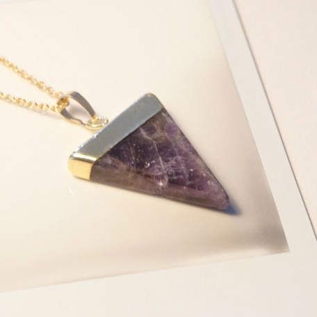 Amethyst Pendant by 1point618 Designs