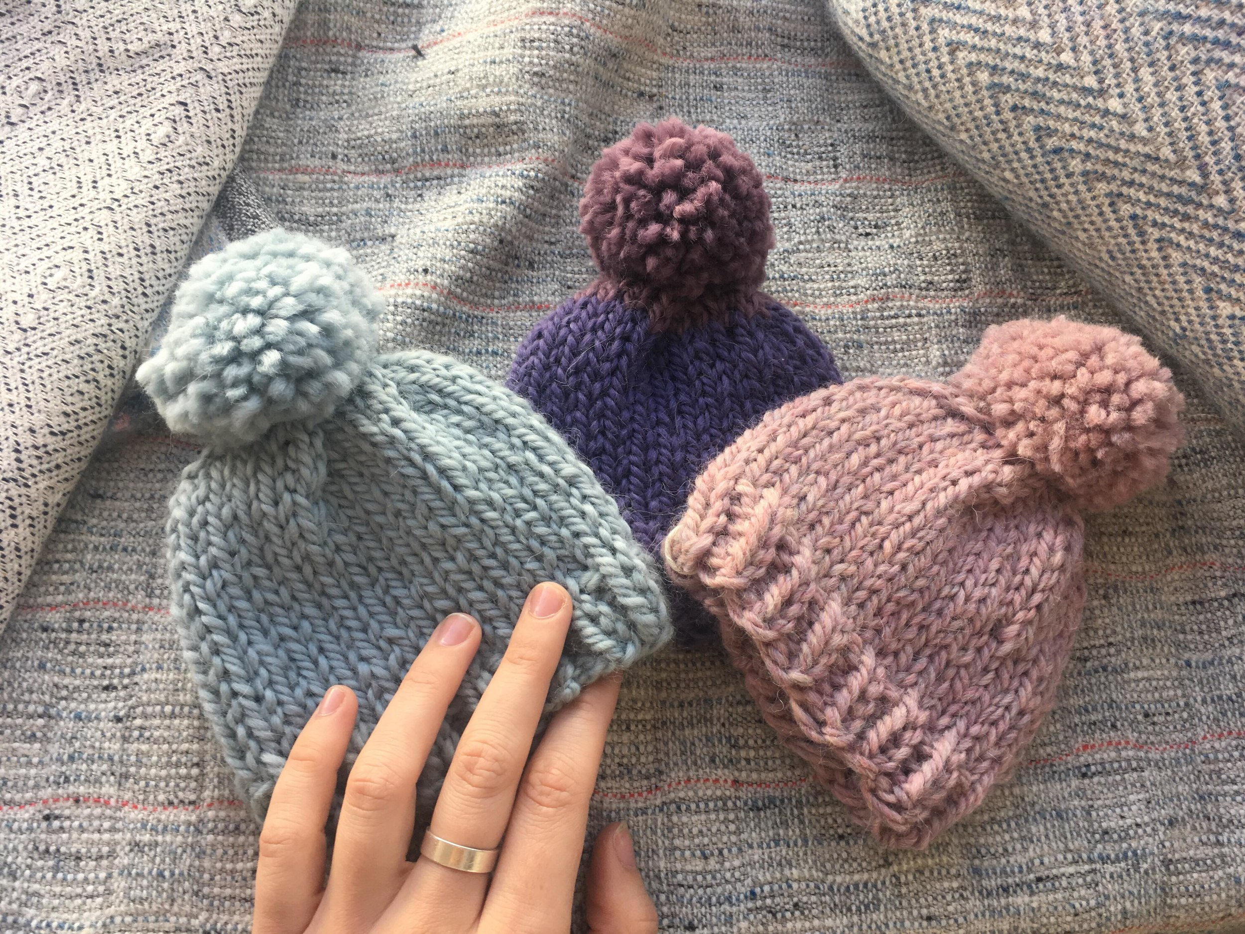 Learn to Knit at Laine - (It's free!)