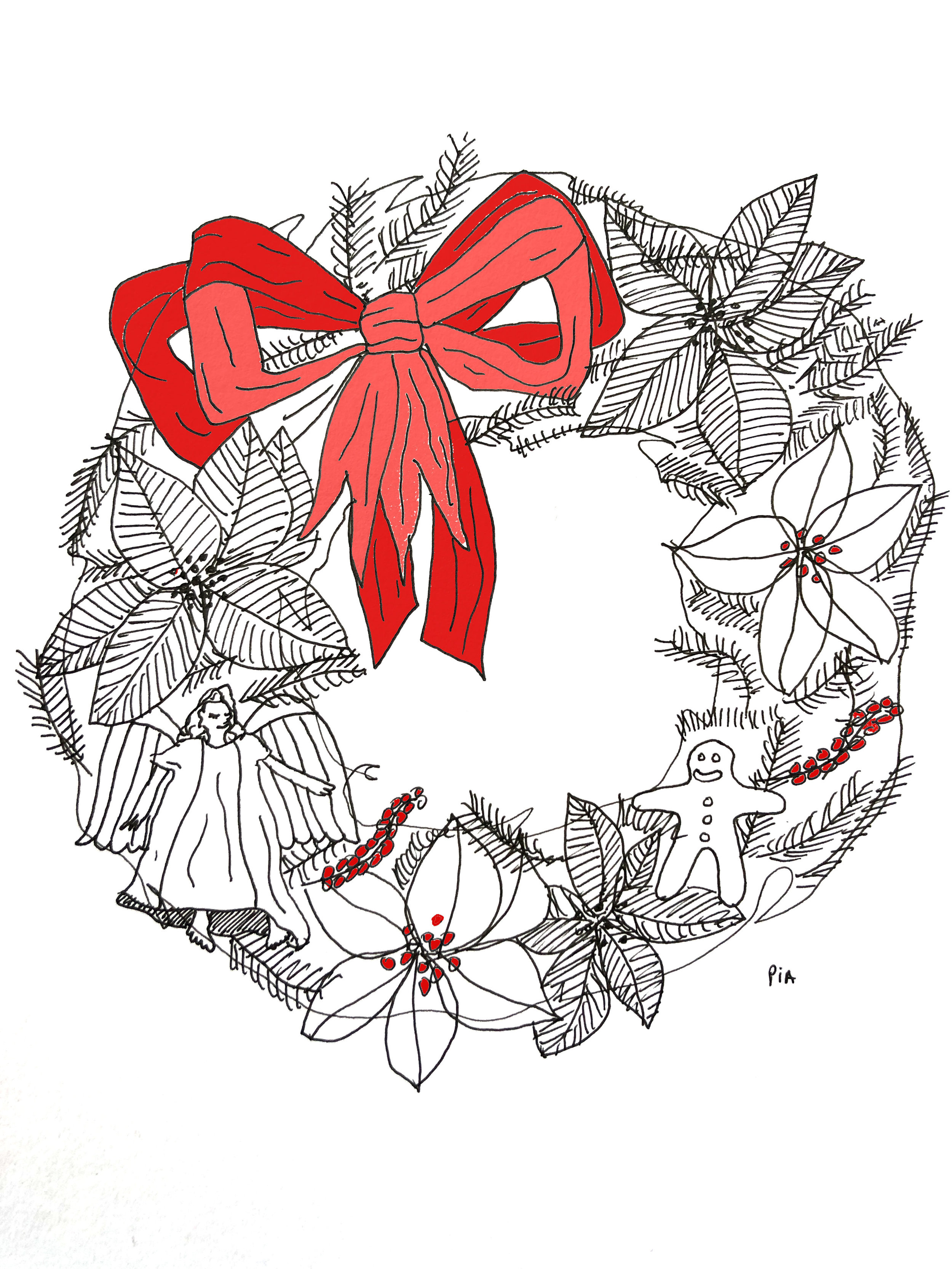 Christmas Card Design, 2017