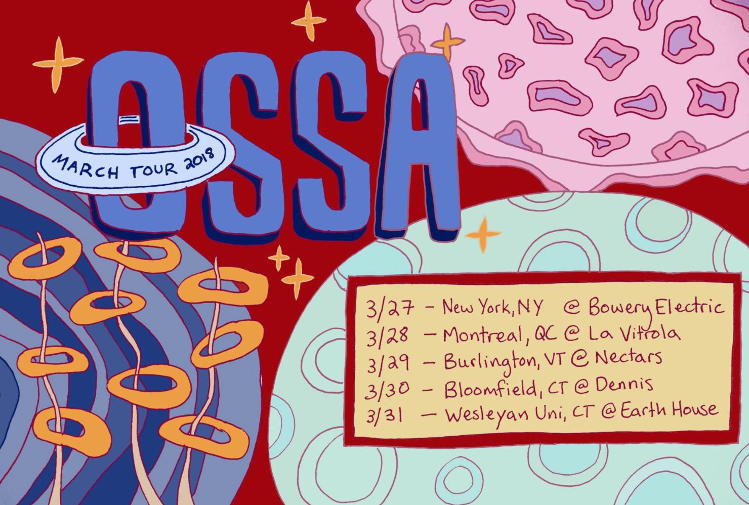 Ossa Band Flyer, 2018