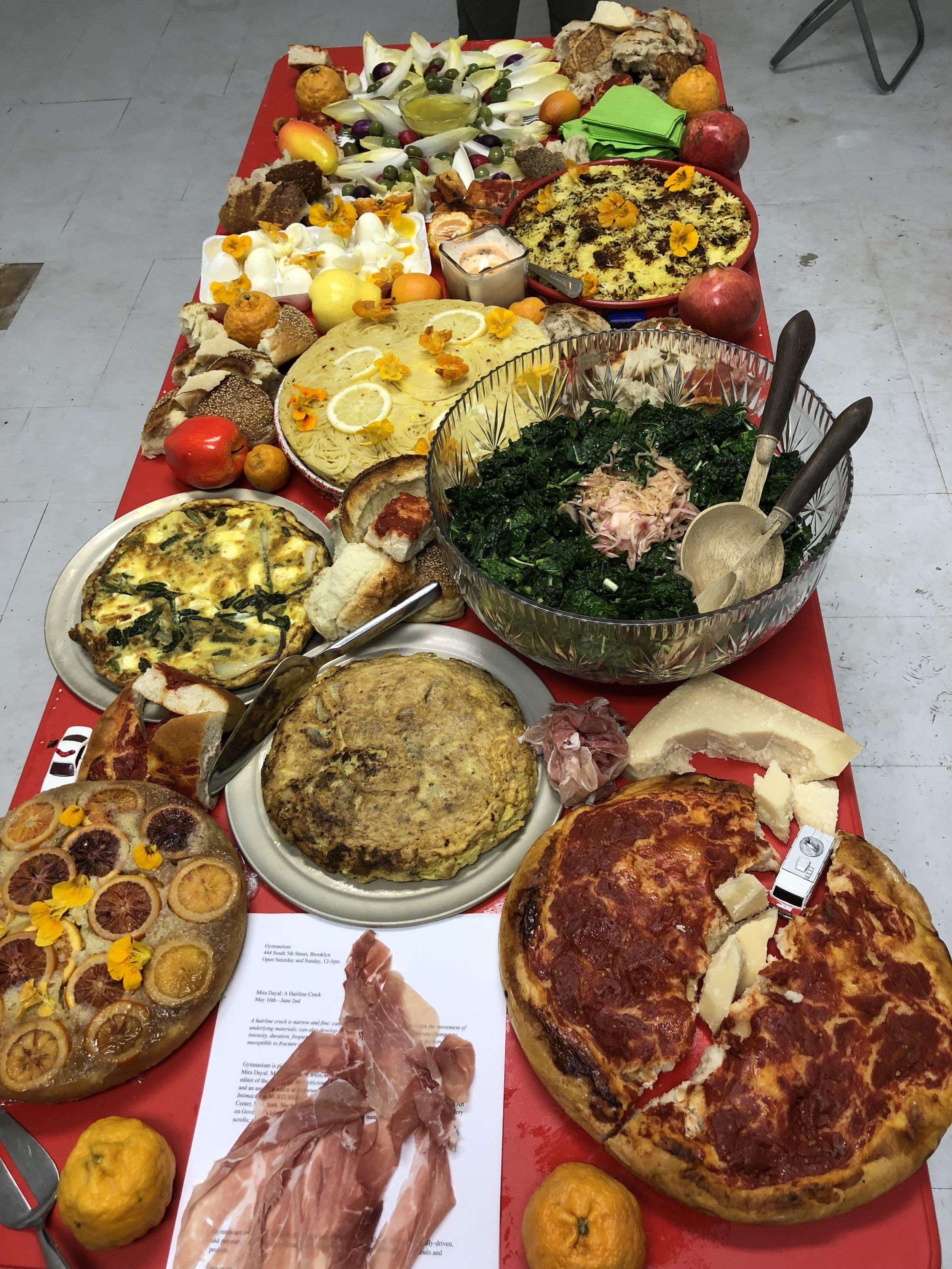 Pop-Up Dinner at Gymnasium NYC, 2019