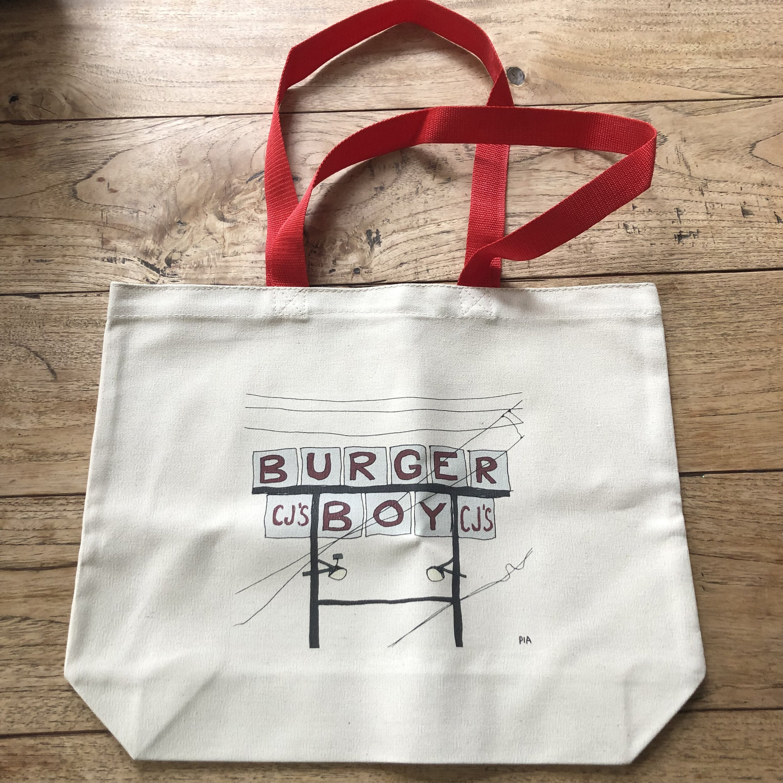 Burger Boy Bag, 2019, email to purchase, $20
