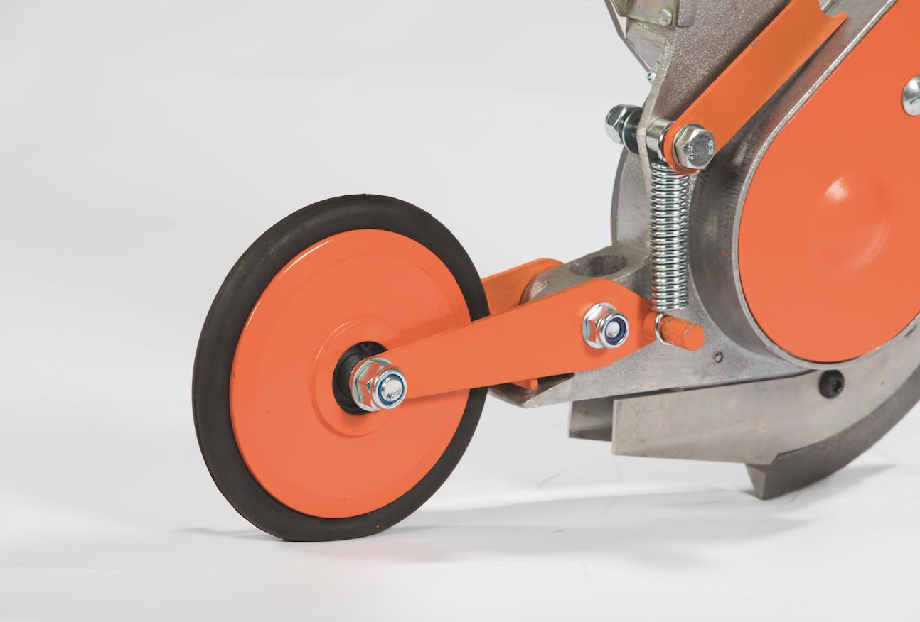 Seed press wheel -