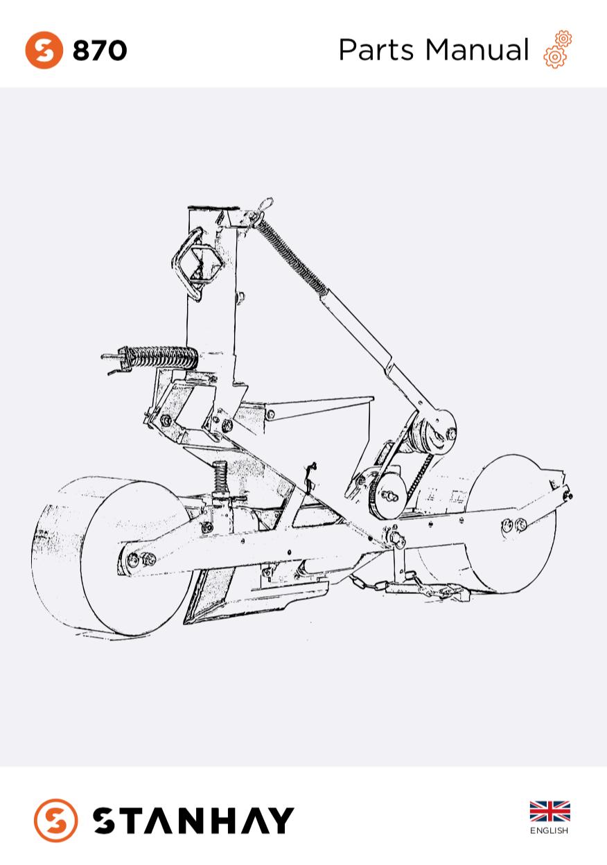 870 Parts Manual