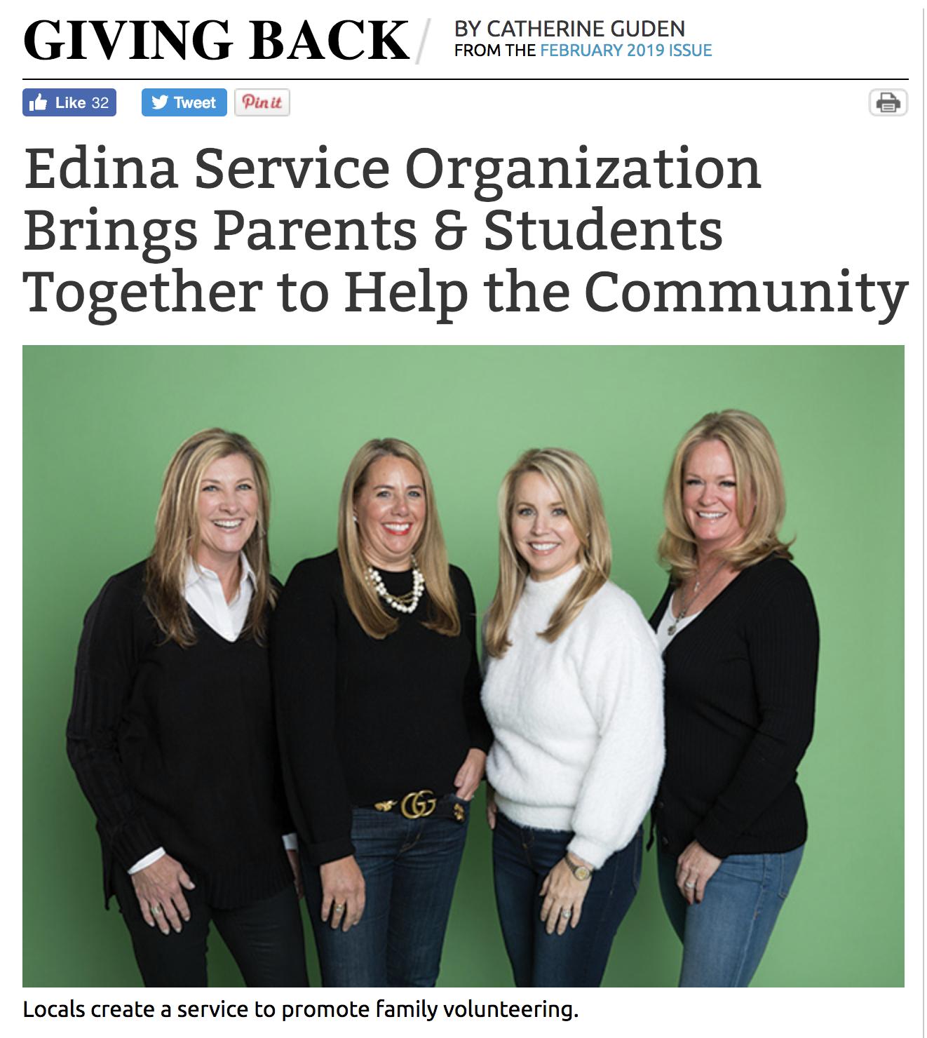 Edina Magazine , February 2019