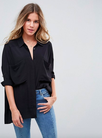 Oversized Blouse -