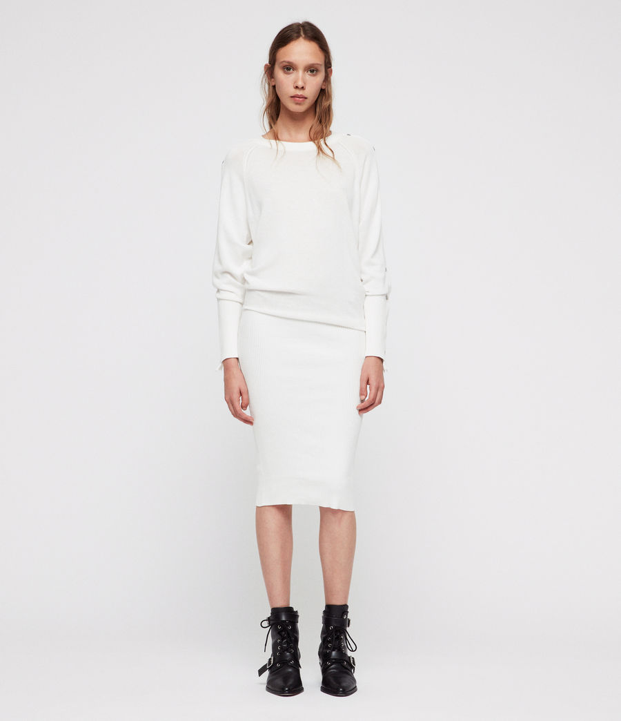 4. A Knitted Dress - I have a major love affair with knit dresses, they are SO comfy and such an easy throw on piece, I am currently lusting after this AllSaints dress