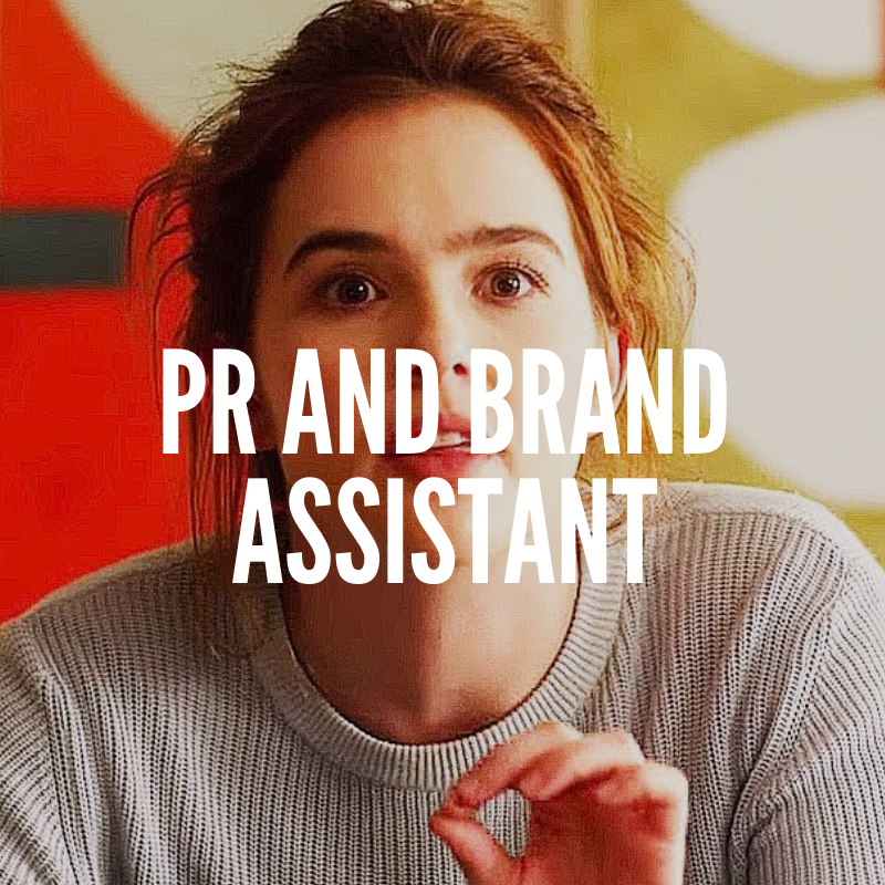 pr and brand assistant