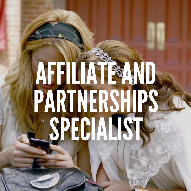 Affiliate and Partnerships Specialist