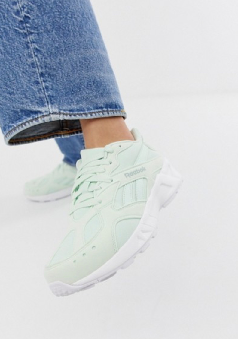 Reebok Aztrek - I enjoy them.Unpopular opinion.Yes I am a few months late.They are now 20% off at ASOS.You're welcome… (If you're that way inclined).