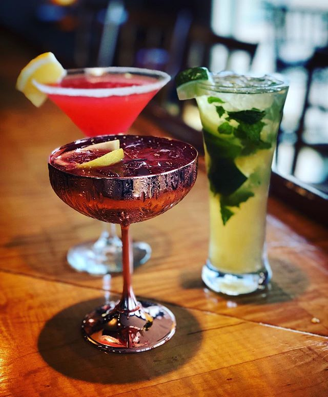 Our spring inspired cocktails have arrived! Freshen up your taste buds with our new Mixed Berry Mule, Diplomatico Mojito and Raspberry Lemon Drop!
