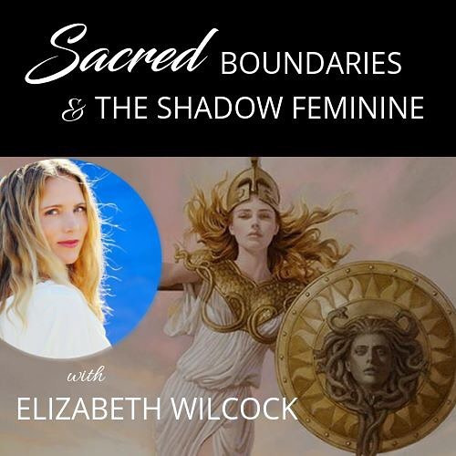 Join me tomorrow for the next episode of the Divine Feminine series on Sacred Boundaries and the Shadow Feminine. Sign up link in my bio! #elizabethwilcock