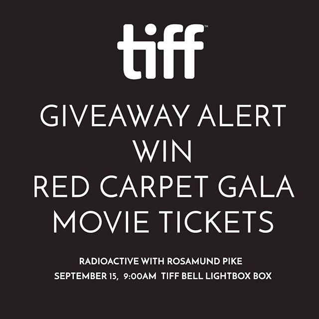 🎬 CONTEST ALERT 🎬 We're giving away two tickets to Radioactive starring Rosamund Pike on September 15th! Here's how to enter:⠀⠀⠀⠀⠀⠀⠀⠀⠀ 1. Follow @rawcatering ⠀⠀⠀⠀⠀⠀⠀⠀⠀ 2. Tag a friend ⠀⠀⠀⠀⠀⠀⠀⠀⠀ 3. Make sure your friend follows @rawcatering - to win you and your friend must be followers⠀⠀⠀⠀⠀⠀⠀⠀⠀ 4. Contest closes August 31 at 11:59pm and the winner will be announced on September 1st!🍿🍿🍿