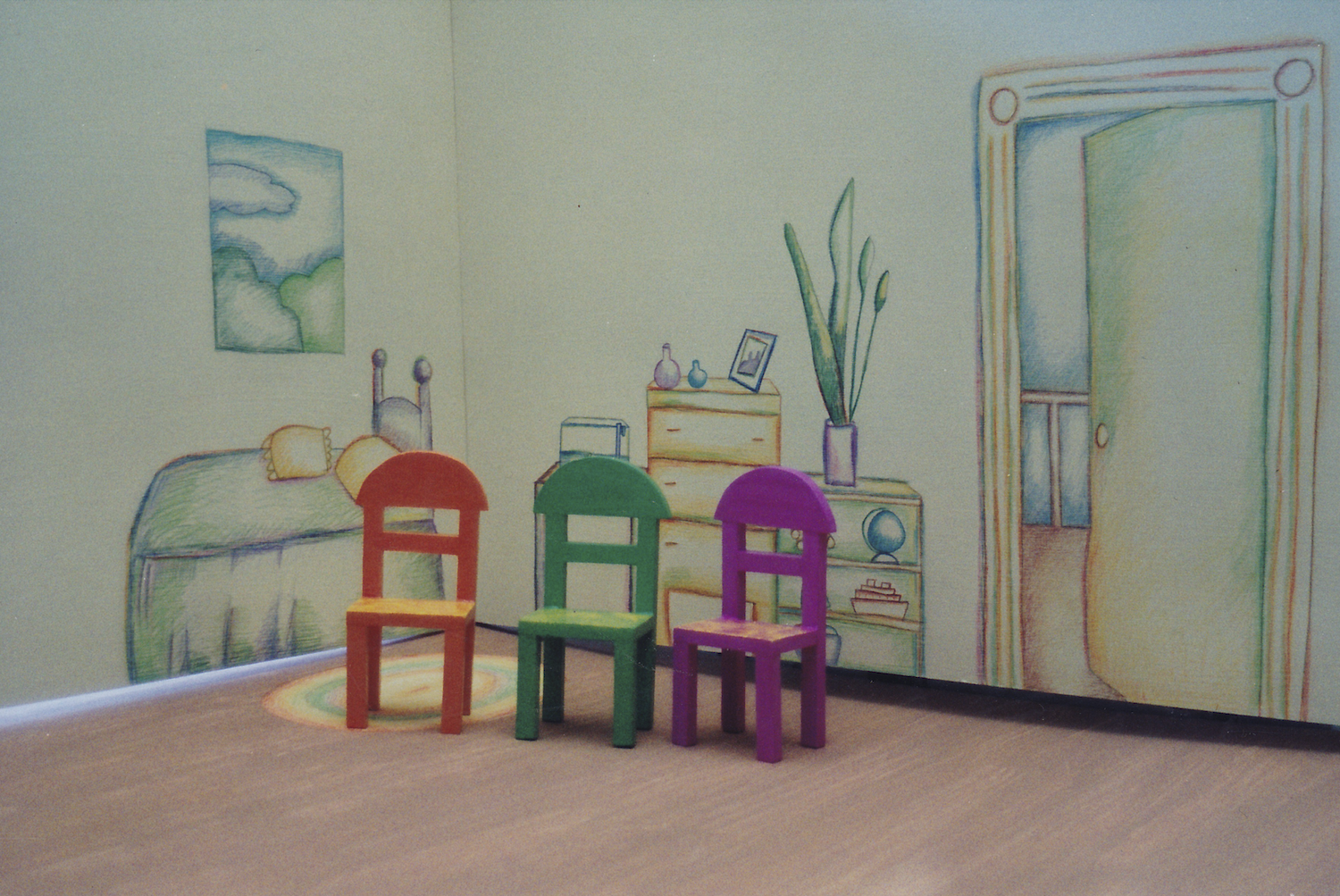 "Animation Set on ""Sesame Street"" by Jane Aaron"