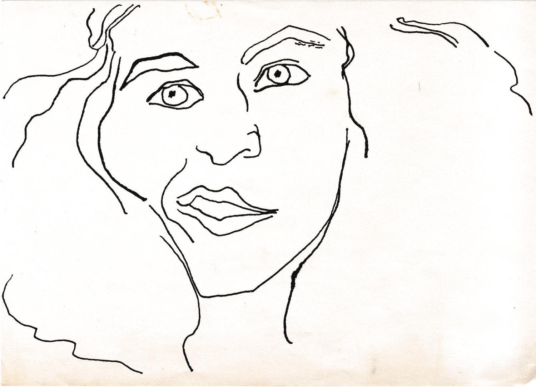 Self-Portrait of Jane Aaron