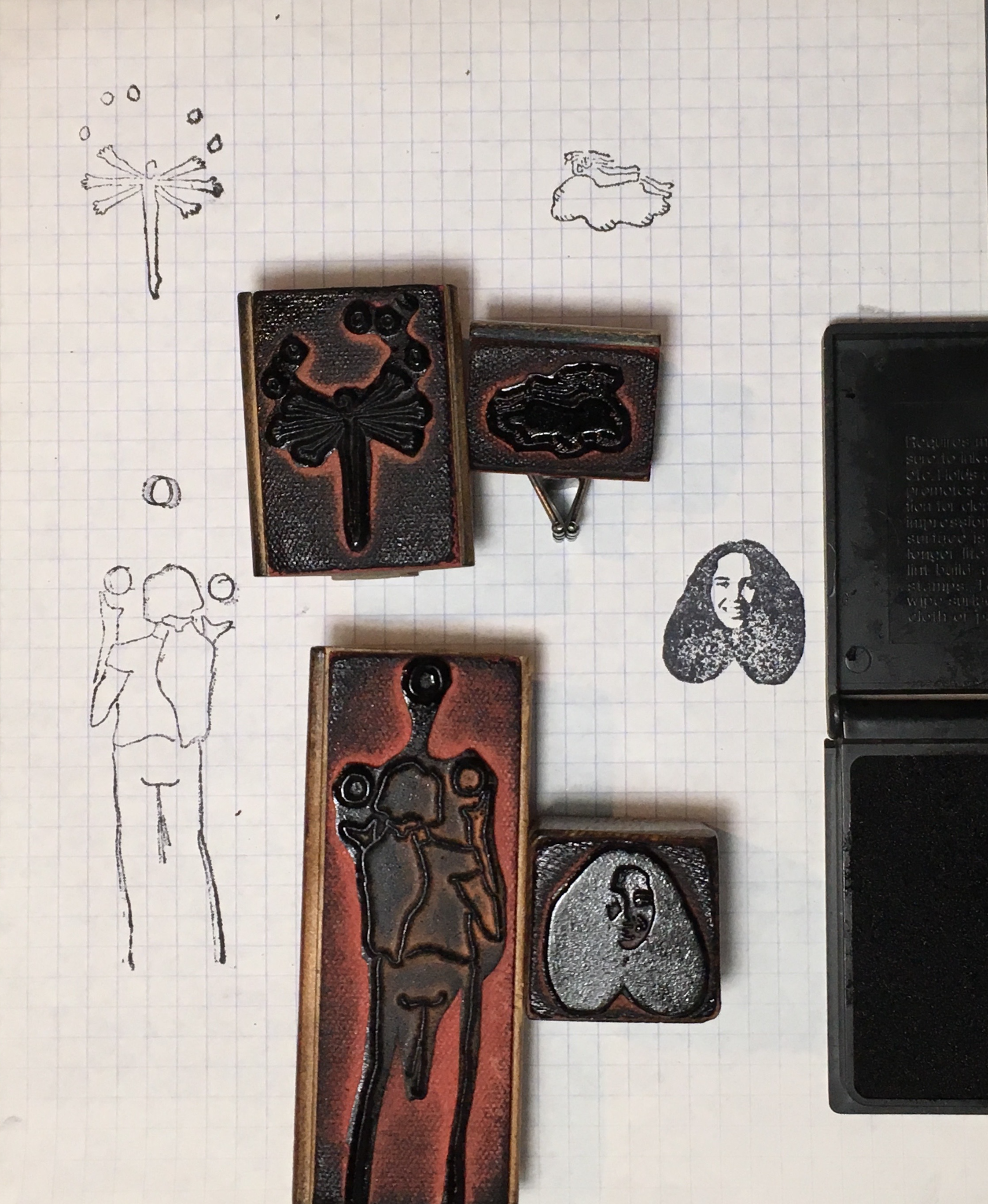Rubber Stamps Designed by Jane Aaron