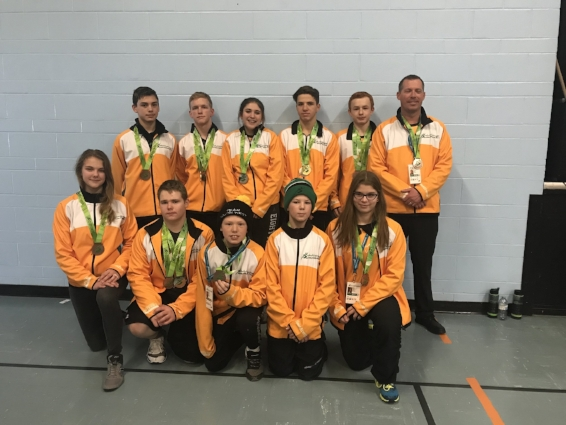 Team Southwest was made up of athletes from the Moose Jaw Kinsmen Wrestling Club and the Swift Current Titans Wrestling Club.
