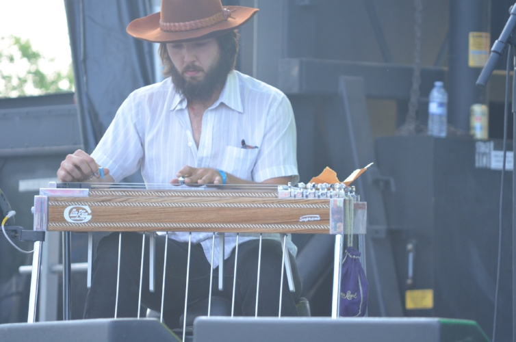 Did Zachary Lucky hire Dwight Yoakam to play the steel guitar for him?