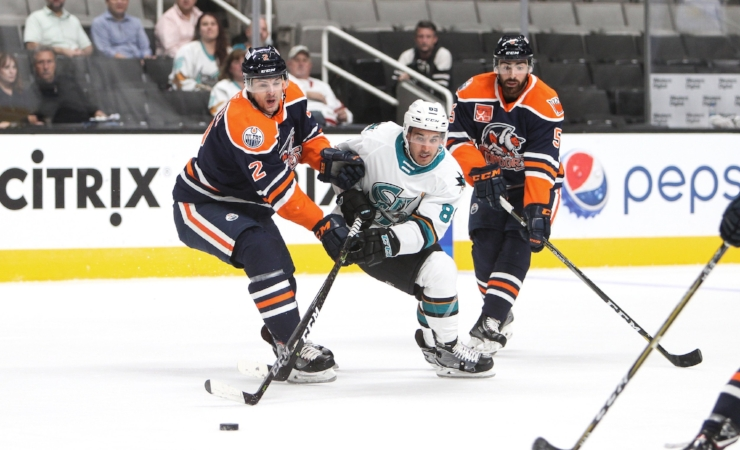 Jayden Halbgewachs , who set the Warriors single season scoring record last season, has been biding his time in San Jose's farm system with the  San Jose Barracudas  of the AHL. It shouldn't be long before he graces NHL ice. He's already on the Barracuda's top scoring and has 5 points in 4 games.