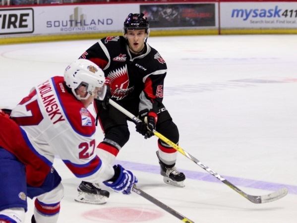 Although drafted by the Washington Capitals,  Dmitriy Zaitsev  went back to Russia at the commencement of the 2017-2018 season. He is currently being bounced around between the  Magnitogorsk Metallurg  and their minor league affiliate, the  Stalnye Lisy Magnotogorsk . He plays alongside former Maple Leaf Nikolay Kulemin and Team Canada Olympian Wojtek Wolski.