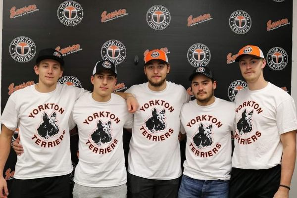 The only real life Moose Javian on last year's club,  Branden Klatt  opted to spend his final year of junior hockey playing for the  Yorkton Terriers  of the SJHL; where he will wear the A on his jersey. He had scored 15 points after ten games.