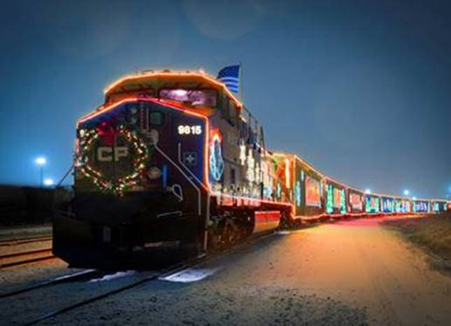 The CP Holiday Train will be in Moose Jaw December 6th