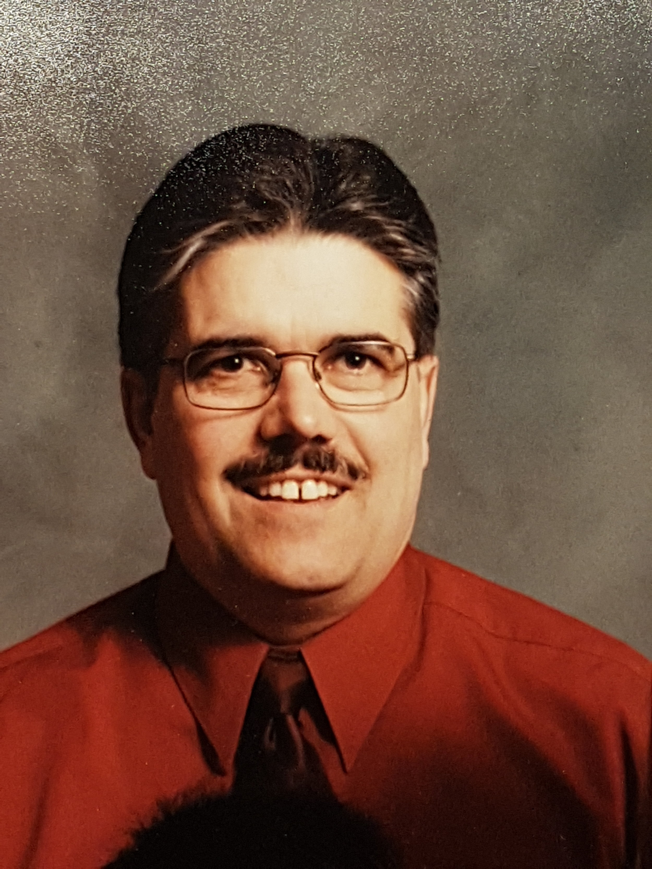 Warren Michelson in his radio and media days - supplied photo