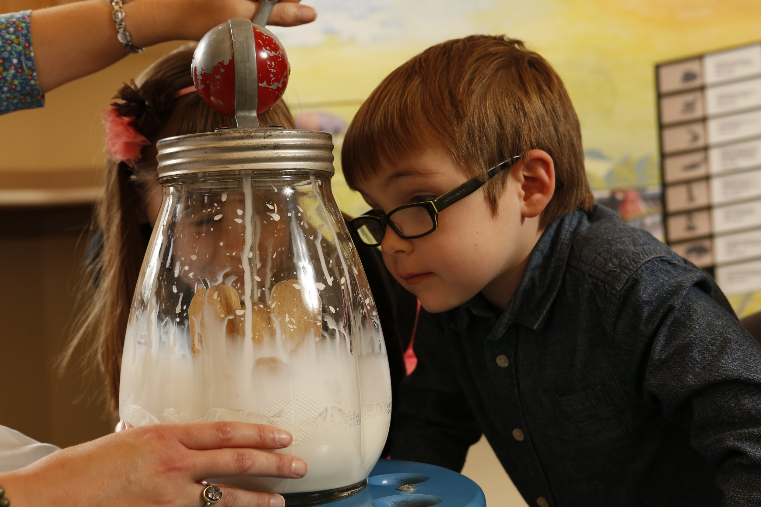 Butter churning will be featured - WDM Photo