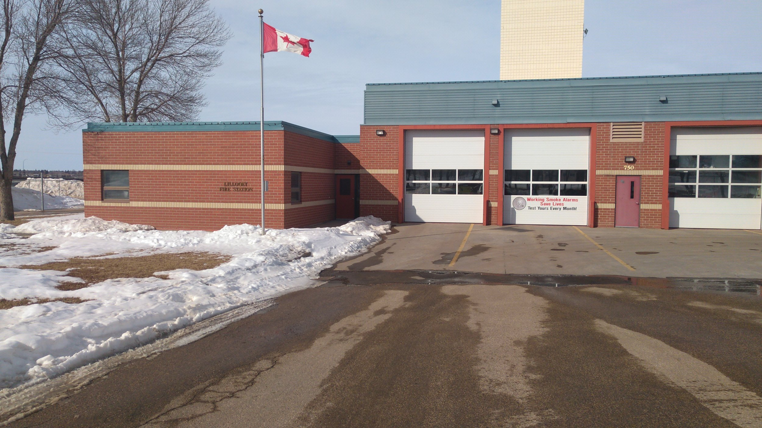 The Lilloet or South Hill Fire Station