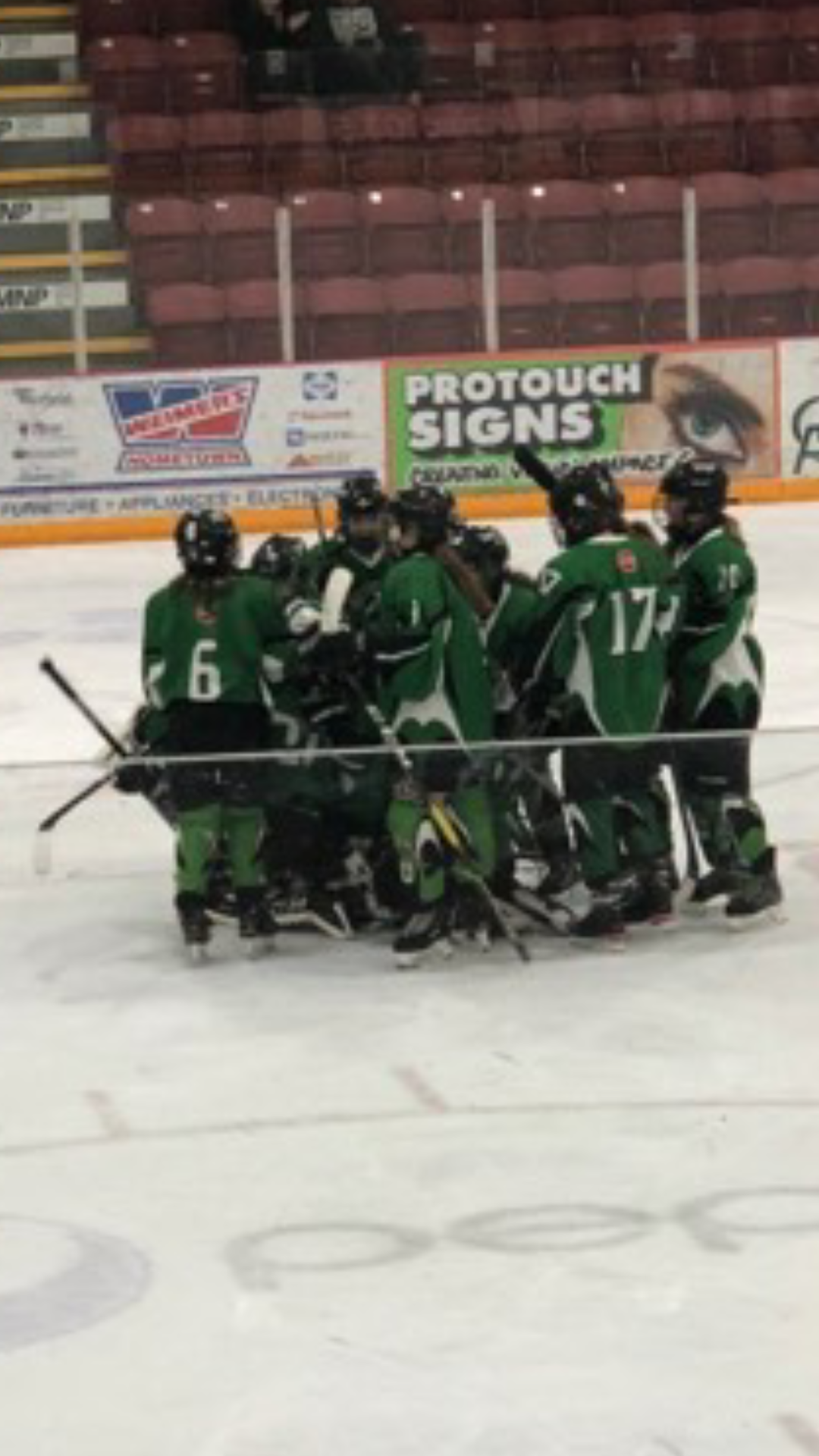 Pee Wee Mavericks Celebrate Their Victory - Melissa Weatherill Photo