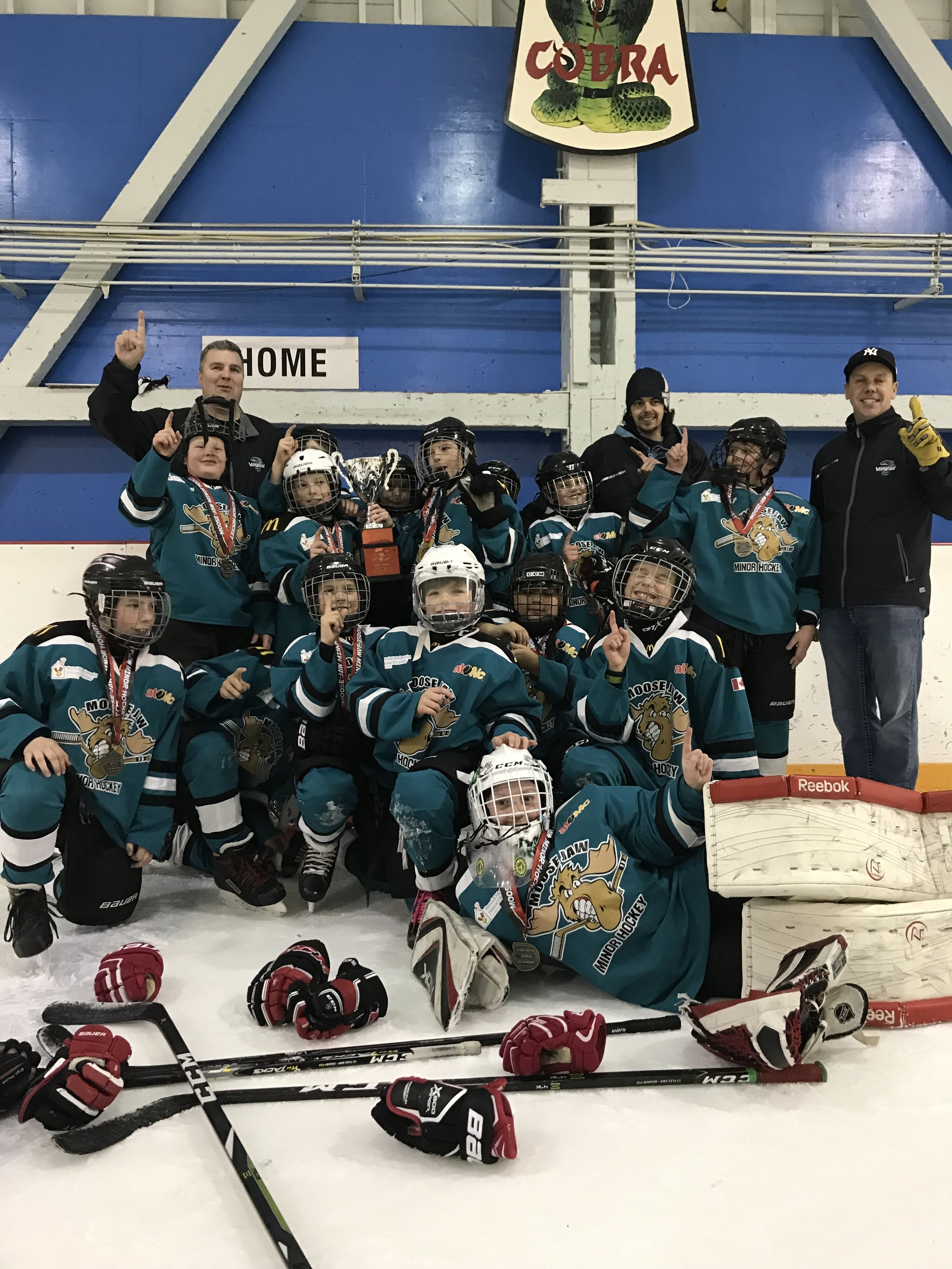 The Vipers were gold medal winners in the City Atom B Championship - Cara Ryall Photo