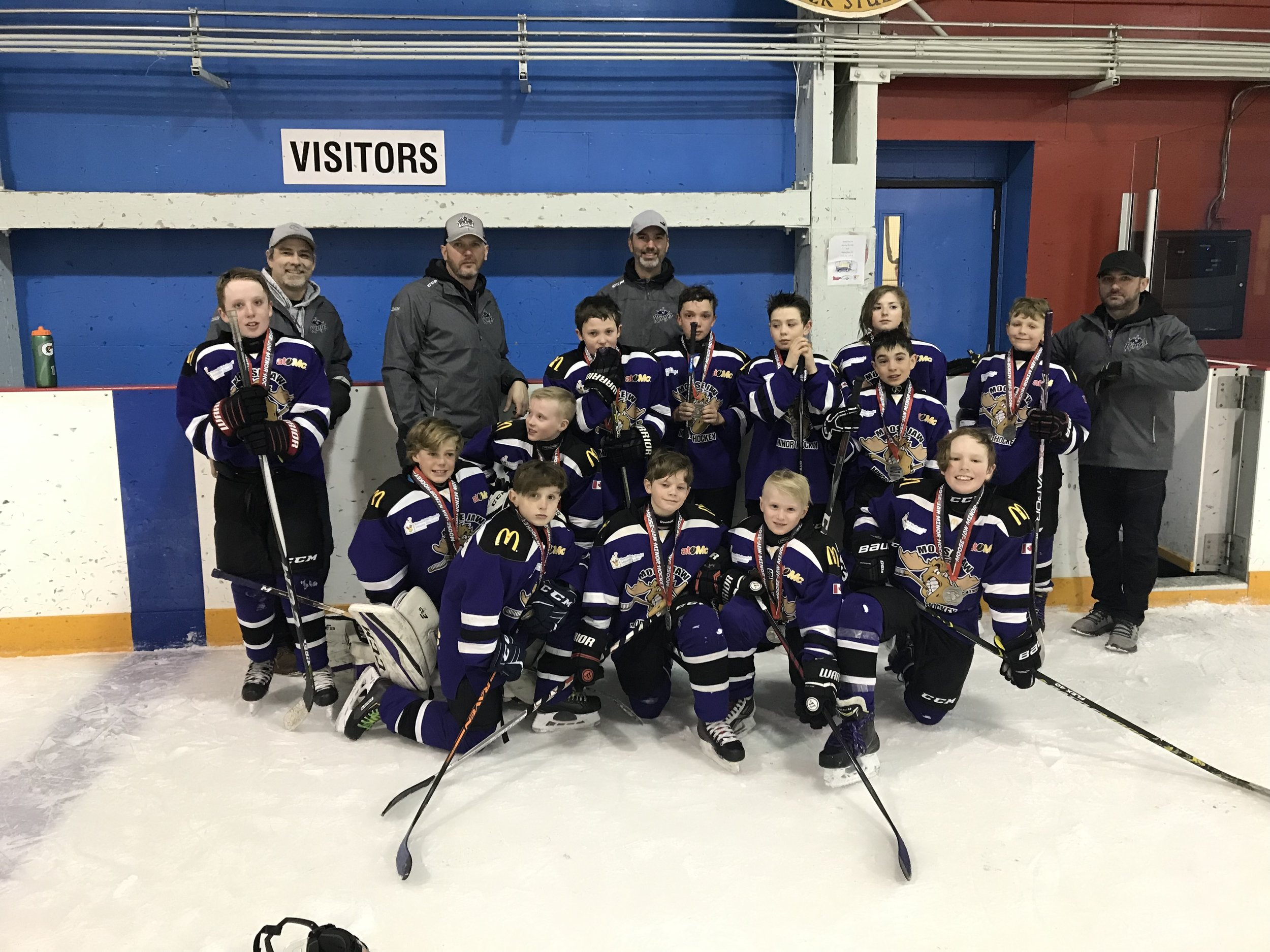 The Kings won the silver medal in the City Atom B Championship - Cara Ryall Photo