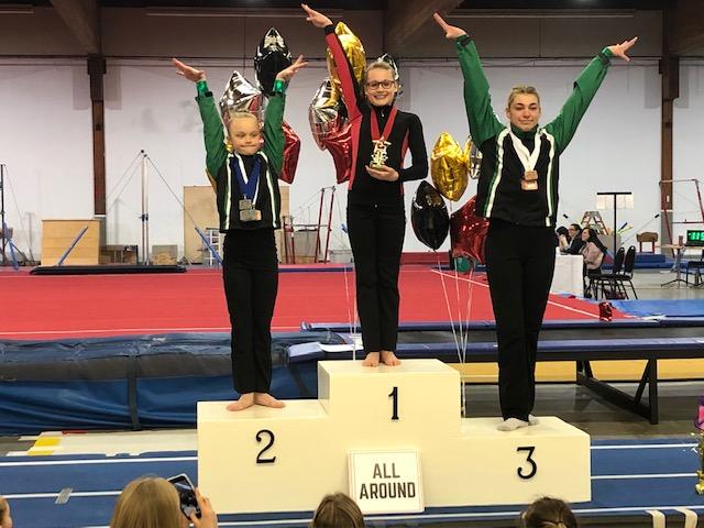 JO 7 – Shaine Closs (center) 1st AA