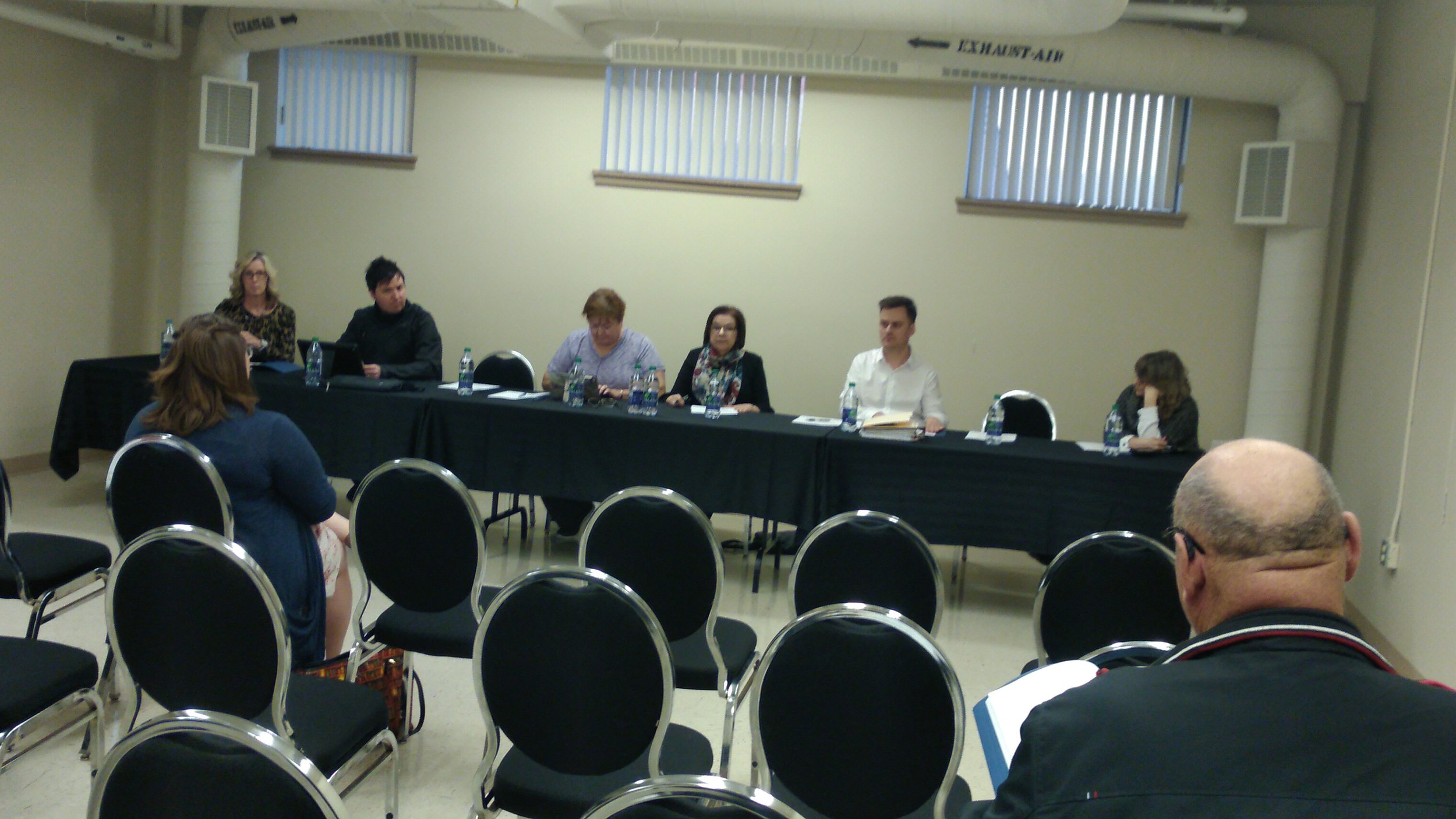 Attendance was sparse at the Moose Jaw Cultural Centre AGM - MJ Independent Photo